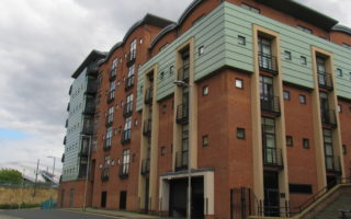 2 Bedroom First Floor Apartment, Curzon Place, Quayside, Gateshead, NE8 2ER